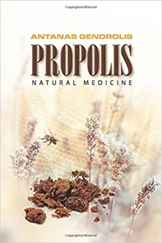 New book about propolis in english by prof. Antanas Gendrolis!